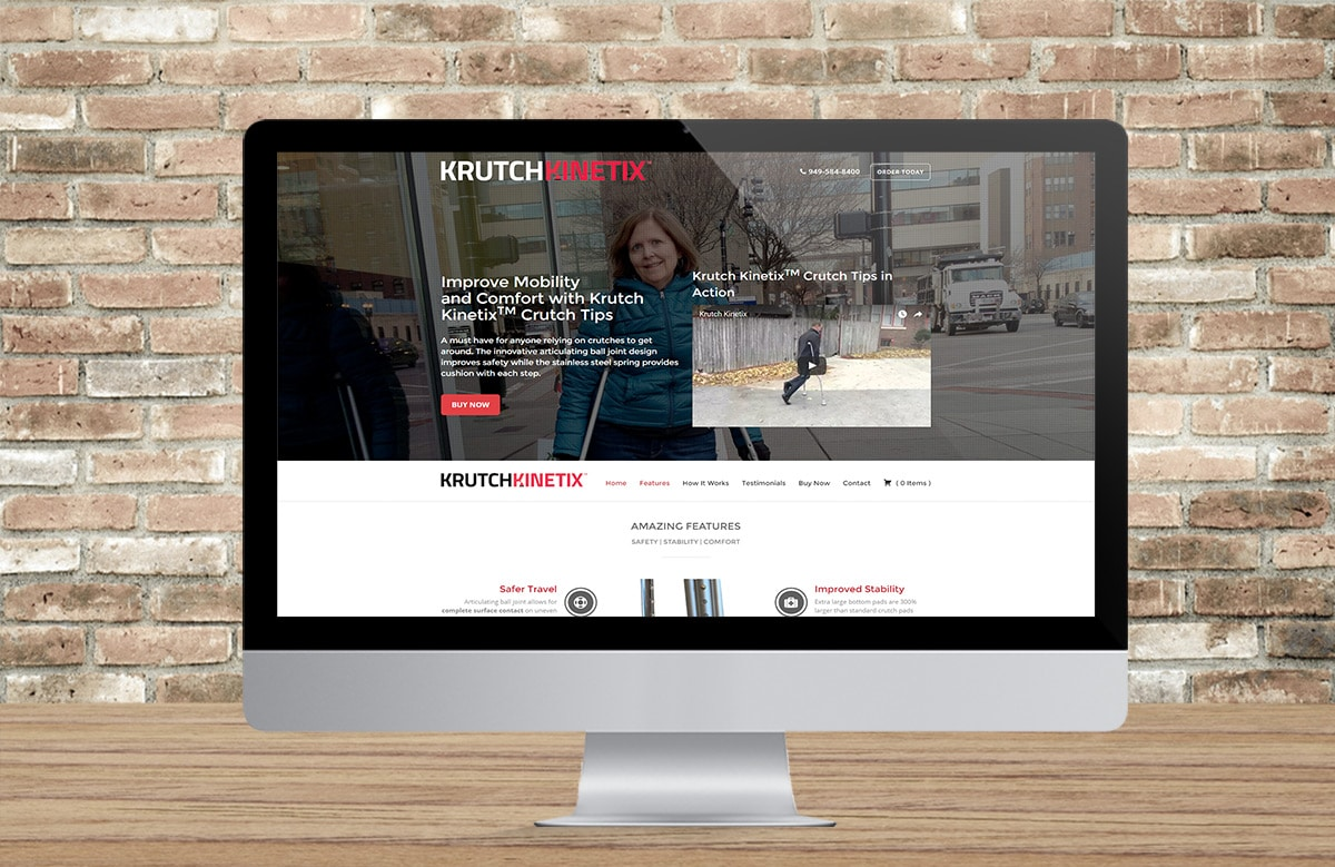 eCommerce Website Design | Krutch Kinetix | Milwaukee, WI