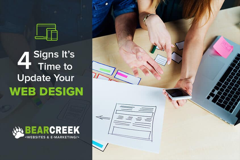 Four Signs You Need a Website Redesign