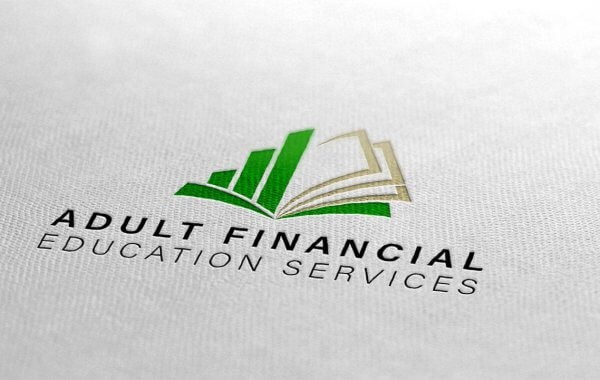 Logo Design | Adult Financial Education Services | Naperville, IL