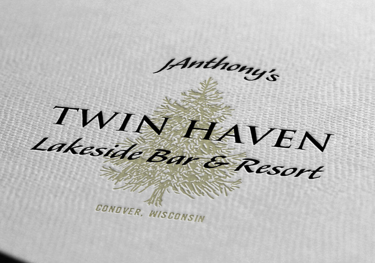 Logo Design | JAnthony's Twin Haven | Conover, WI
