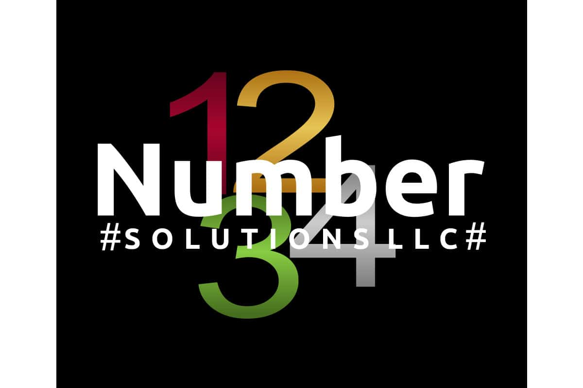 Logo Design | Number Solutions | Land O Lakes, WI