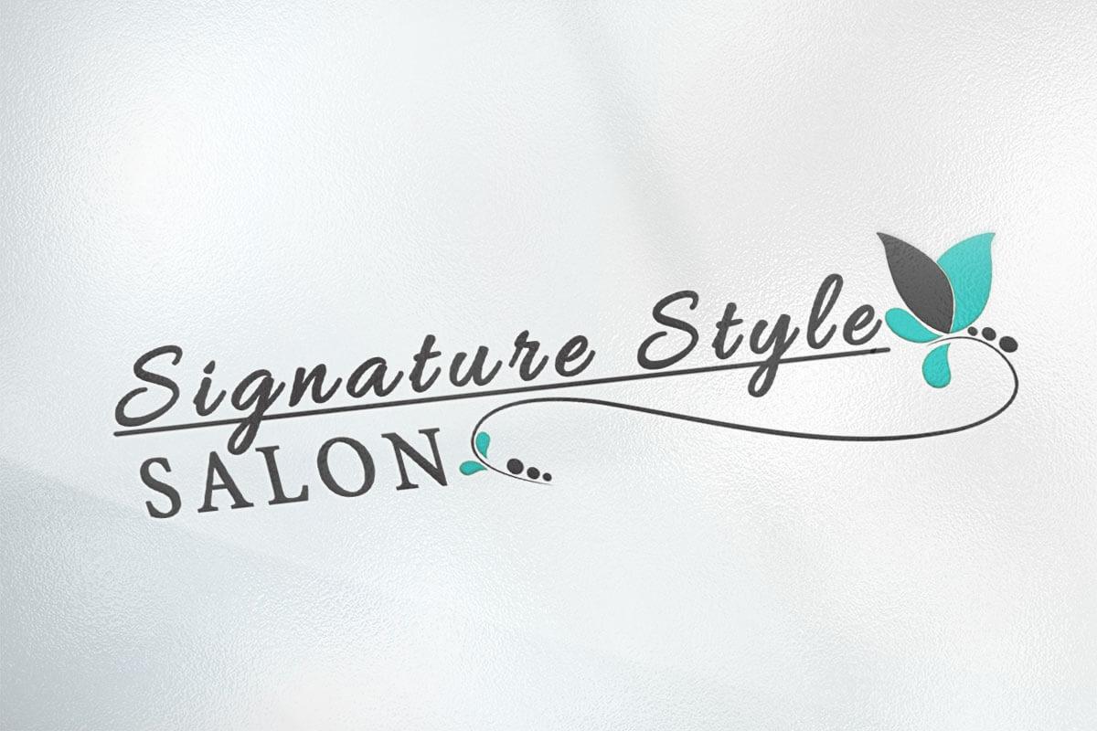 Logo Design | Signature Style Salon | Land O Lakes, WI