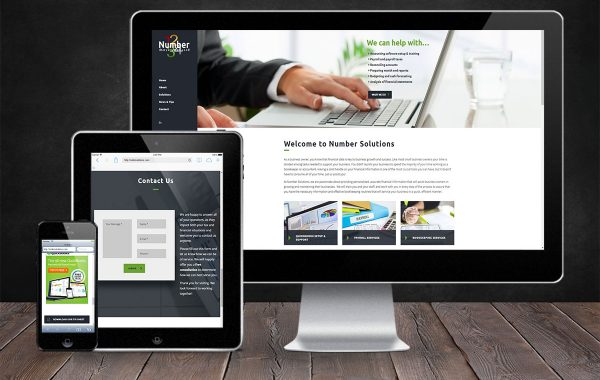 Website Design | Number Solutions | Land O Lakes, WI